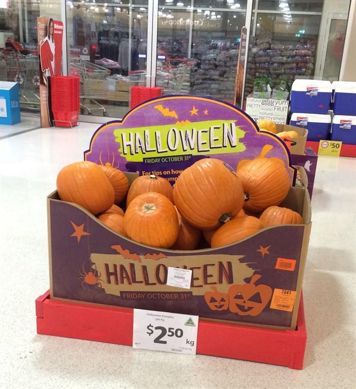 Coles Halloween 2014